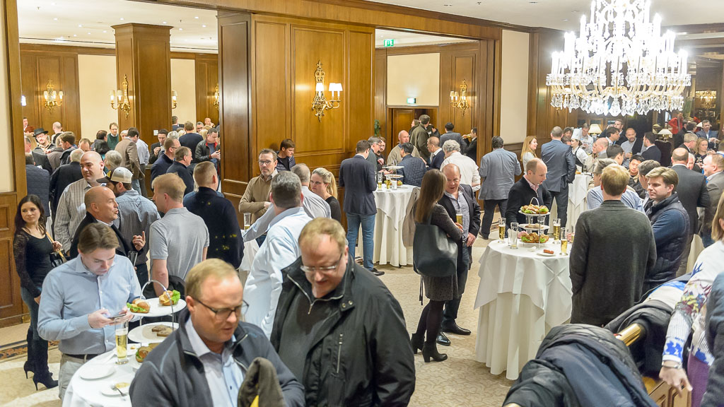 WBMBC17, beer, whiskey, RMI International,  AUT, Austria, Vienna, Hotel Intercontinental on Thursday, March 23, 2017.  Photo by Marko Kovic